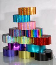 plastic PET Sequins Film polyester Spangle sequin trim 3MM 4MM 5MM