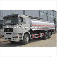 SHACMAN factory price 20000L fuel tanker truck dimensions