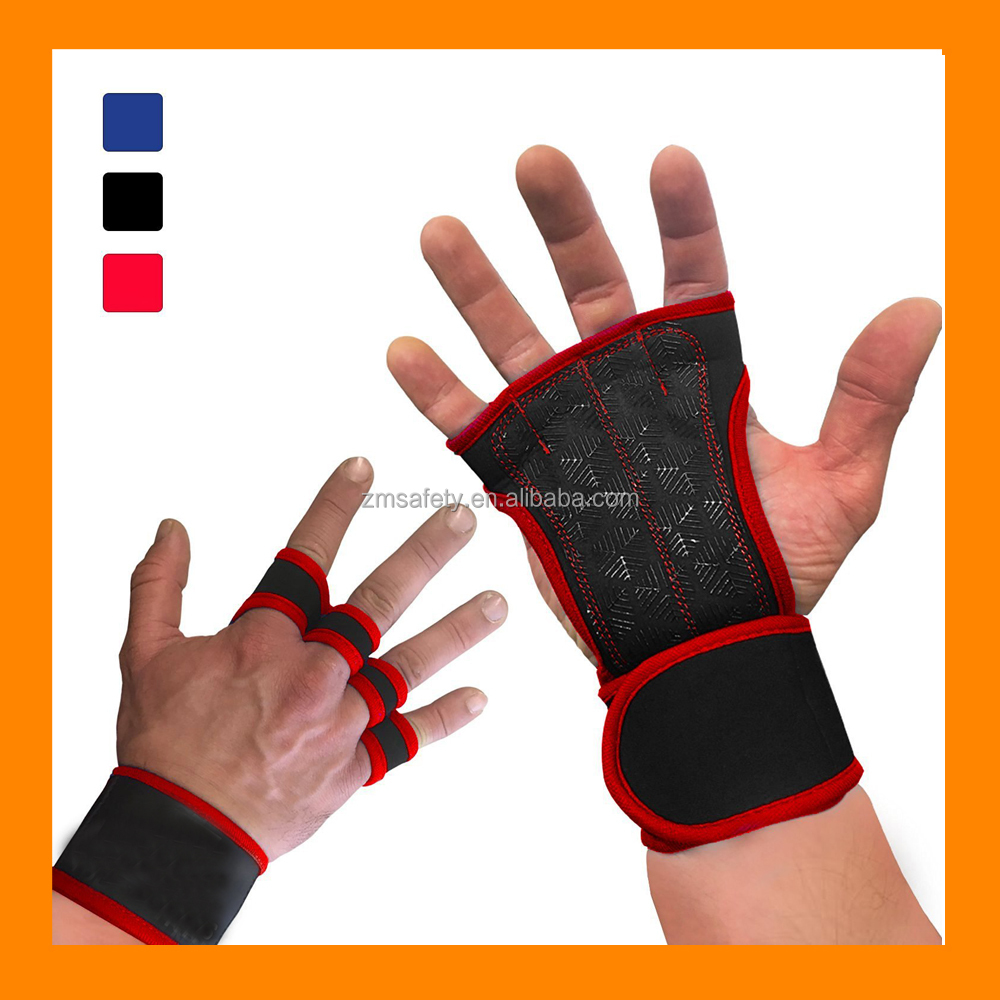 Barbell Straps Wraps Hand with Wrist Support for Protection Belt Brand Gym Power Training Weight Lifting Gloves Bar Grip