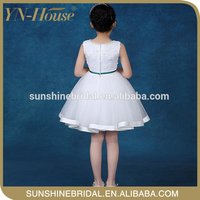 New fashion Apricot girl girls puffy tutu dress for baby girls party wear