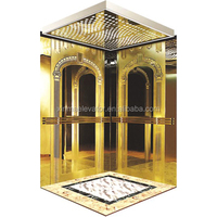 PE kone elevator parts for passenger with Ceiling