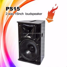 PS15 outdoor 15inch professional audio speaker dj equipment