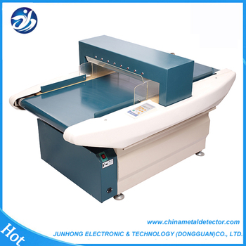Auto-conveyor industrial needle detector for textile broken needle