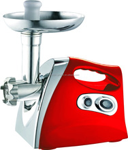 Home Appliance OEM guangdong factory red color plating meat grinder