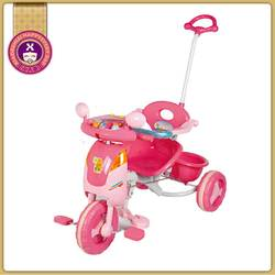 New Style Plastic Little Girls Large 4-1 Trike With Music And Light