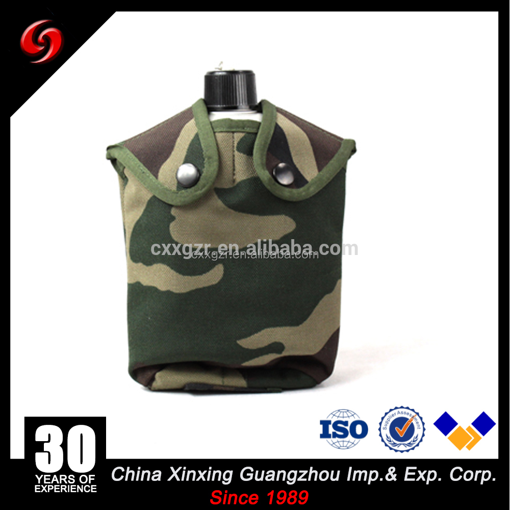 2017 new arrival us army water bottle 1.2L military canteen aluminum materila wholesale