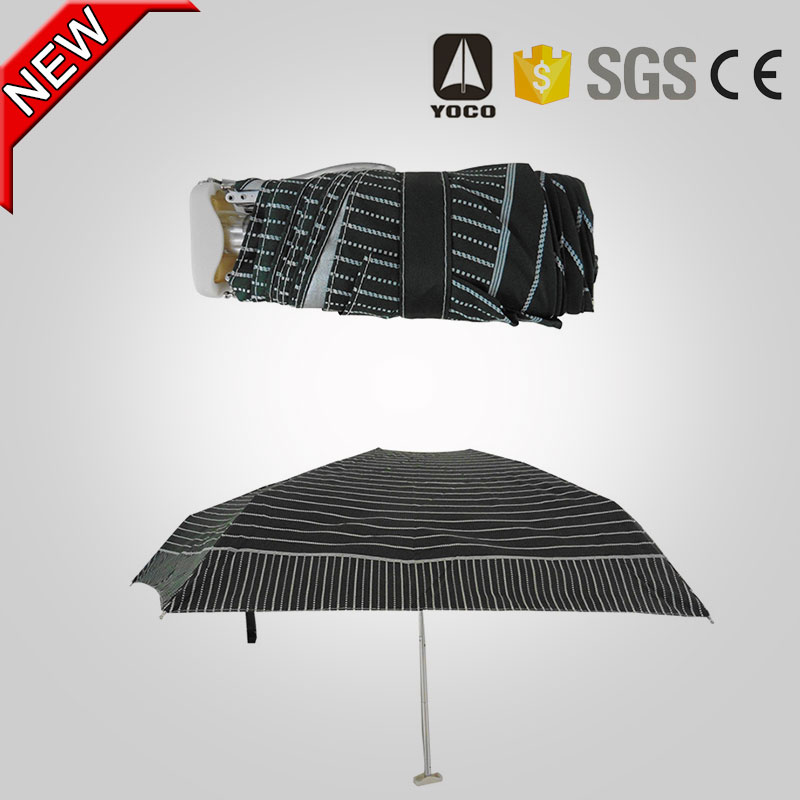 chinese exports wholesale 5 fold umbrella with pocket for promotional gifts