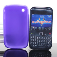 High quality tpu case for blackberry curve 8520 back cover