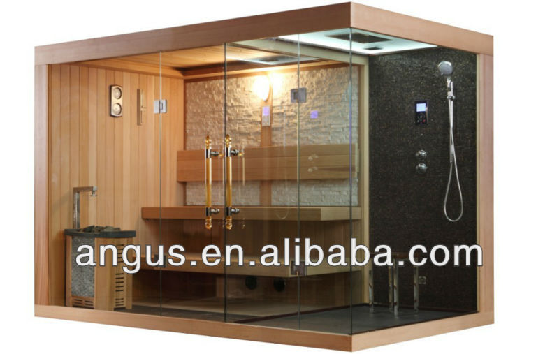 New Shower Room with Dry Sauna for Family YH-1388