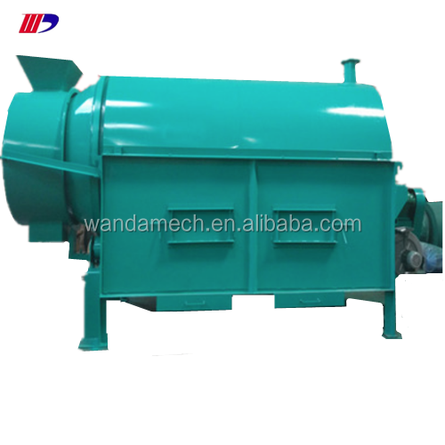 Lower price charcoal production rotary drum dryer/pellet drying machine/wood chips dryer