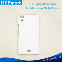 bulk 3D sublimation manufacturer cell phone cases for Micromax Selfie Lens Q345