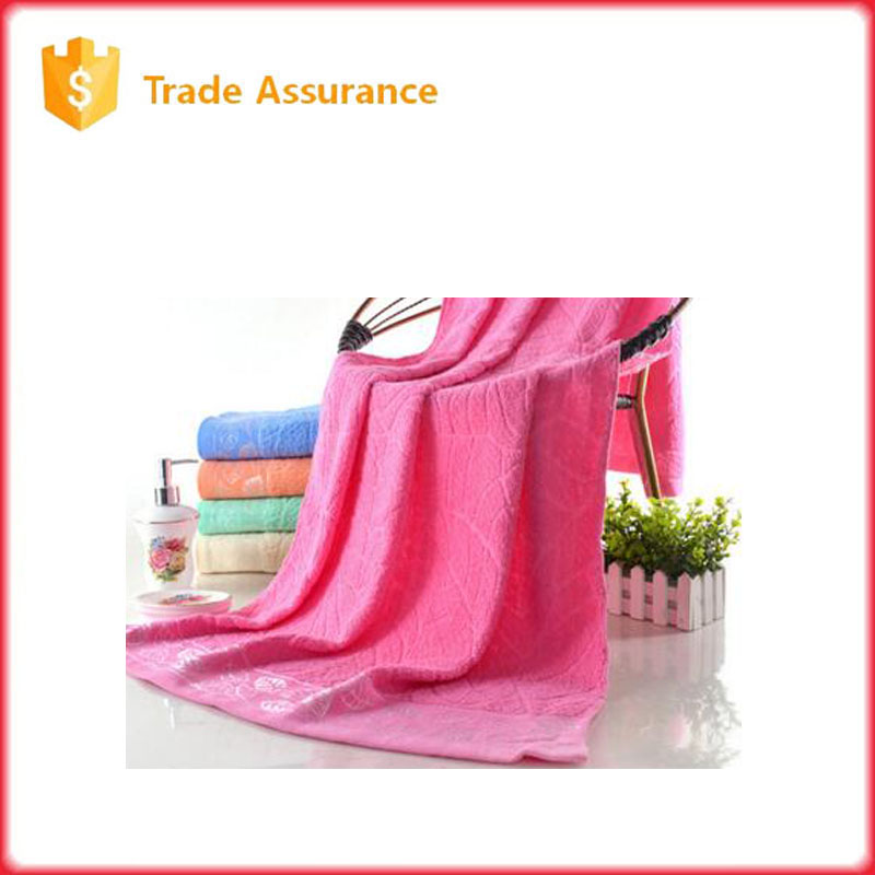high quality beach bath towel plain color