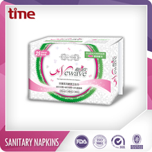 OEM DESIGN 8 layers active oxygen negative ion sanitary napkin