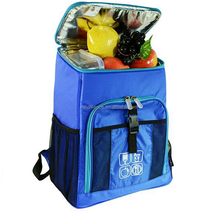 Custom cooler backpack with folding chair for beach picnic/backpack style stools cooler bag
