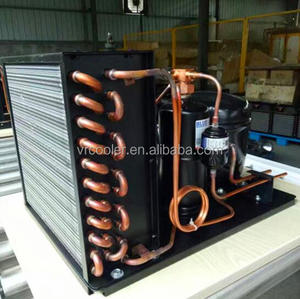 Top quality small air cold condenser for Fried Ice Cream Machine