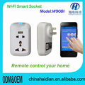 New Home Automation Remote Control wifi Multi fonction socket , Android/iOS Cloud wifi plug socket