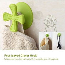 Removable bathroom strong coat hangers