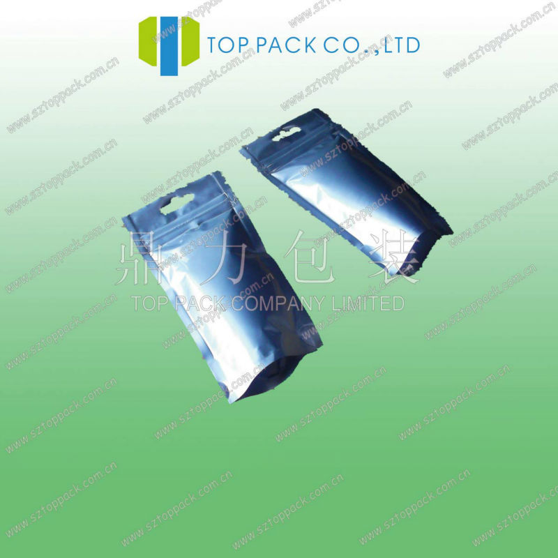 Bat Guano soil fertilizer bag with Aluminum foil / AL soil fertilizer packaging bags/ ziplock AL stand up soil fertilizer bag