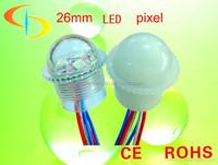 12 volt mutil color 26mm 3pcs smd 5050 led light for exposed luminous characters