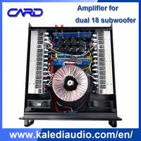 hi-fi stage powered amplifier music studio equipment professional
