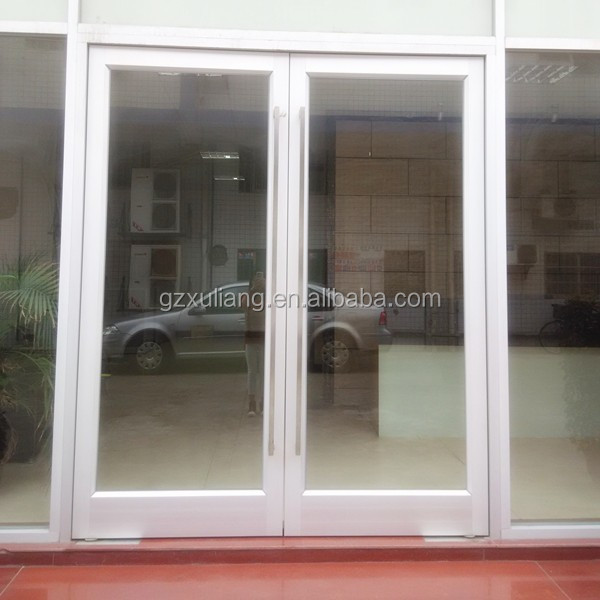 Environmental Protection frame glass door with floor hinge
