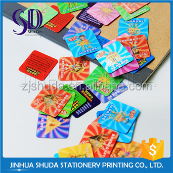 Customize Pp 3D Student ID Card,Novetly Printed Card