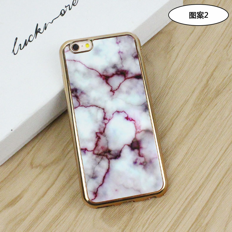 2016 factory super protective marble design TPU phone case for iPhone case