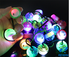 Hot Sale Wholesale LED Light Finger Spinning Stress Relax Toys <strong>Yoyo</strong> Ball Fidget Spinner Toys