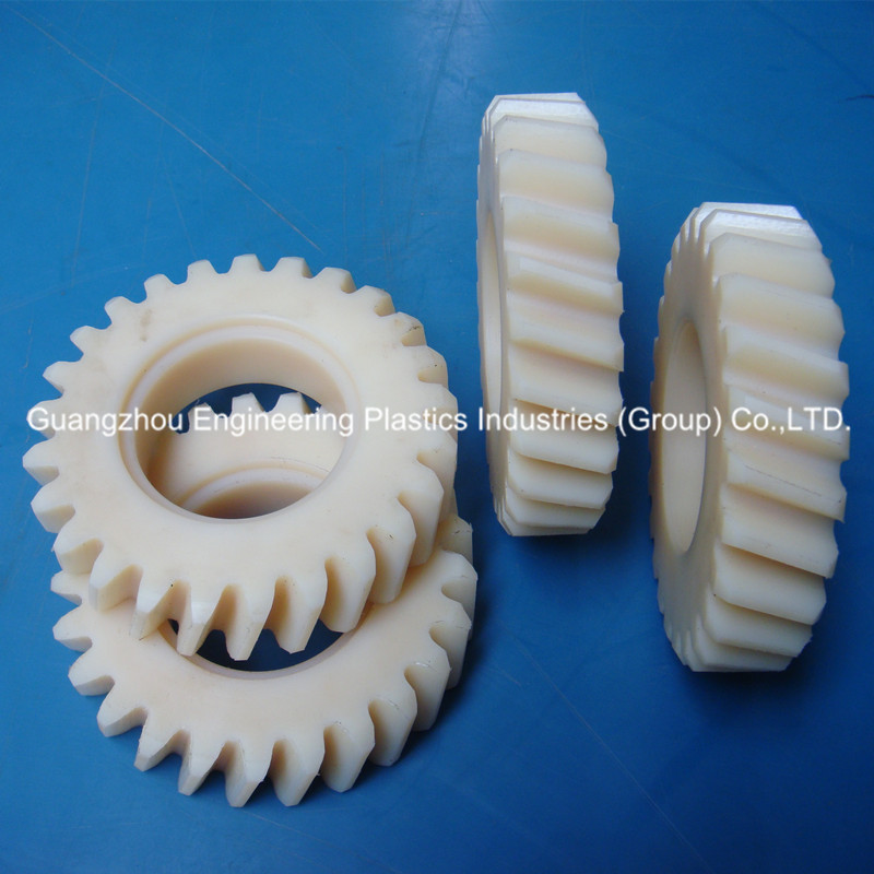 Guangzhou plastic MC nylon gear nylon6 gear small toy gears for cnc machining