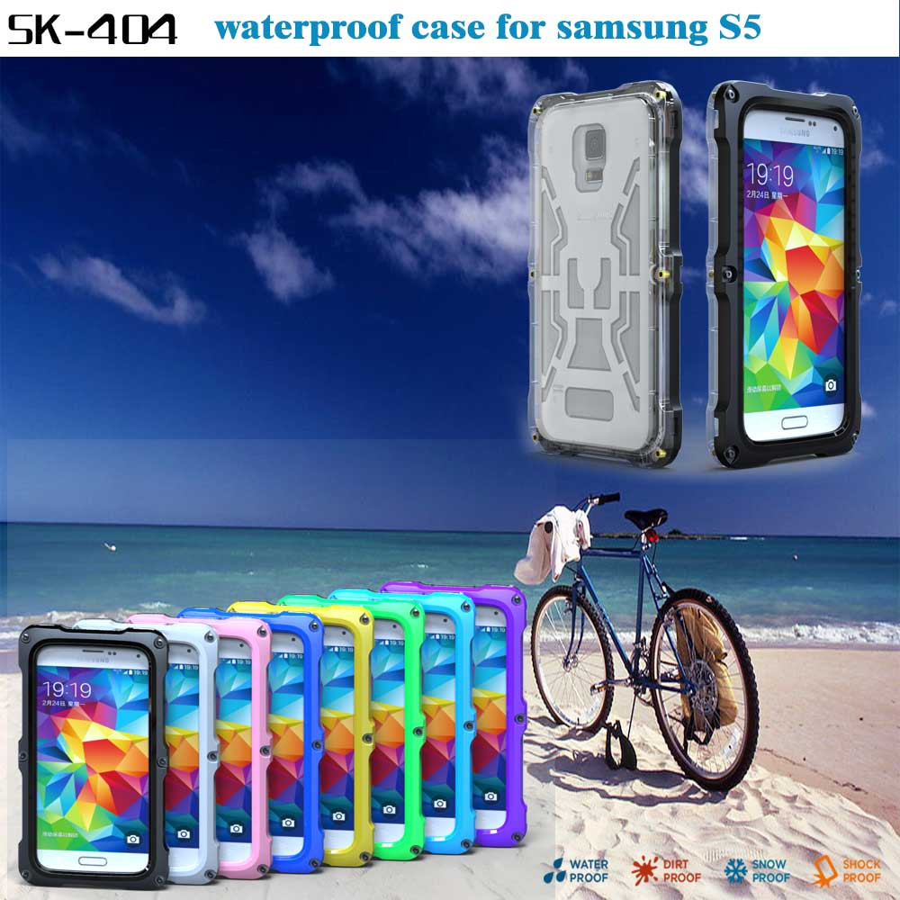 Underwater 10 M IPX 68 waterproof cover Case for Samsung galaxy S5/note 4