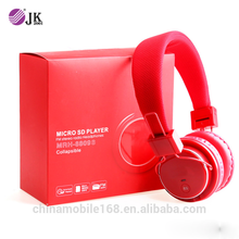 Foldable Bluetooth Wireless Noise Cancelling Over Ear Headphone with Mic For Smartphone ,Tablet PC and Laptop