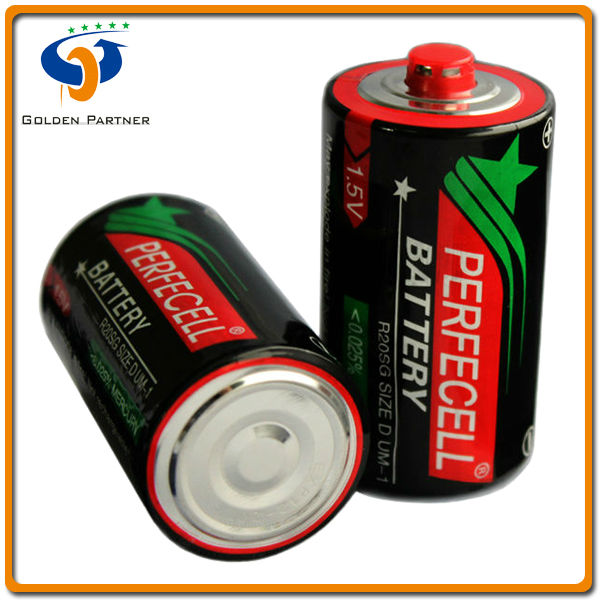 Well packed batterie d'energie Activ R20 D size 1.5v