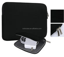 Waterproof Neoprene laptop sleeve with Small Case for MacBook Charger