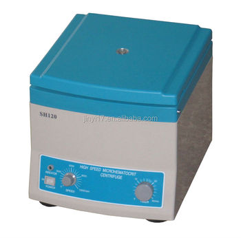 SH120 Tabletop High Speed Micro hematocrit Centrifuge