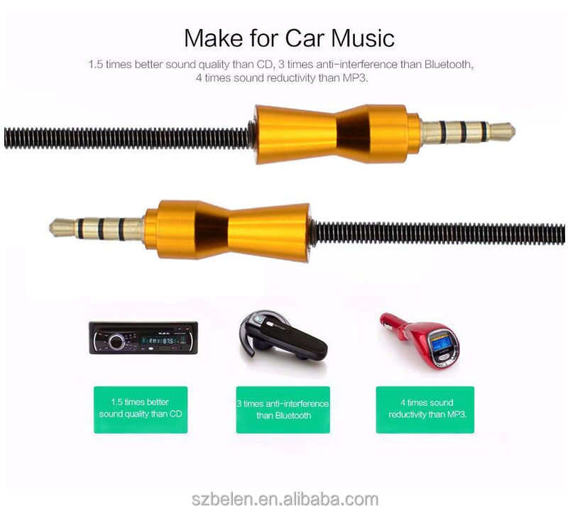 High Quality Male To Male Double Sided Usb Cable Mini Usb To 3.5Mm Jack Cable