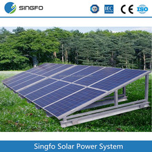High efficency 5000W solar energy system price, Top Performance 5KW solar panel system for home
