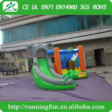 Popular Elephant inflatable bouncer, cheap inflatable moonwalk for kids play