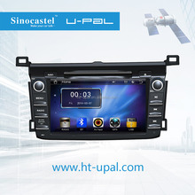 OEM/ODM service supplier for 7 inch smart truck /car/automotive GPS navigator with multimedia player, suitable for Toyota RAV4