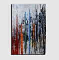 Modern Abstract Handmade Oil Painting for Living Room