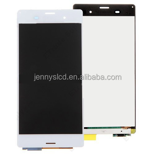 Competitive price for Sony Z3 lcd with digitizer assembly white
