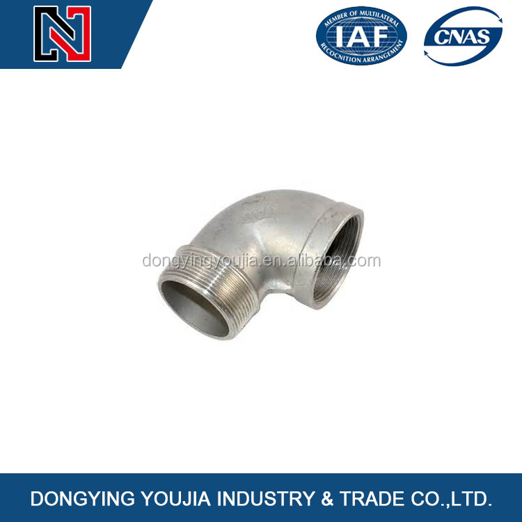 Hot sale casting stainless steel threaded butt plug