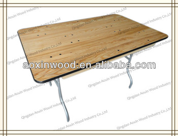 Wooden dining table,folding table