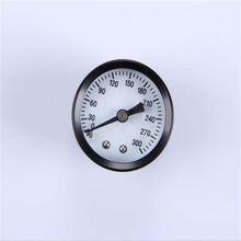 40mm 1.5inch black steel case 0-300 psi single scale back dry ordinary common manometer