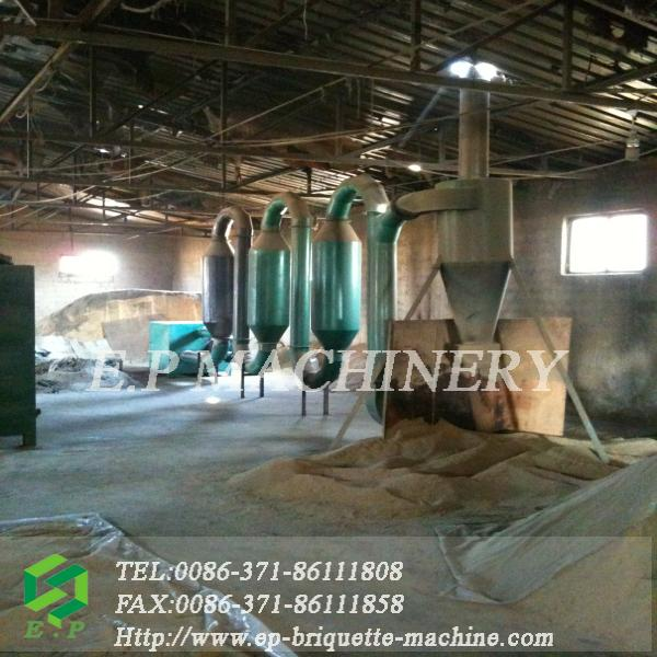 Widely popular sawdust flash / pipe dryer