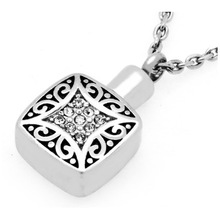 Wholeale stainless steel pendant cremation jewelry pendant cremation jewelry