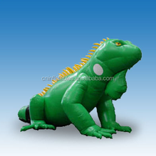 inflatable iguana, customized inflatable replica for advertising, inflatable replicas