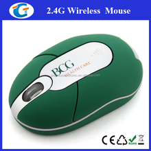 Comfort grip mini cute mouse wireless 2.4Ghz