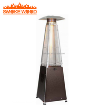 Hot Sell Glass Tube Pyramid Outdoor Tabletop Garden Flame Gas Patio Heater