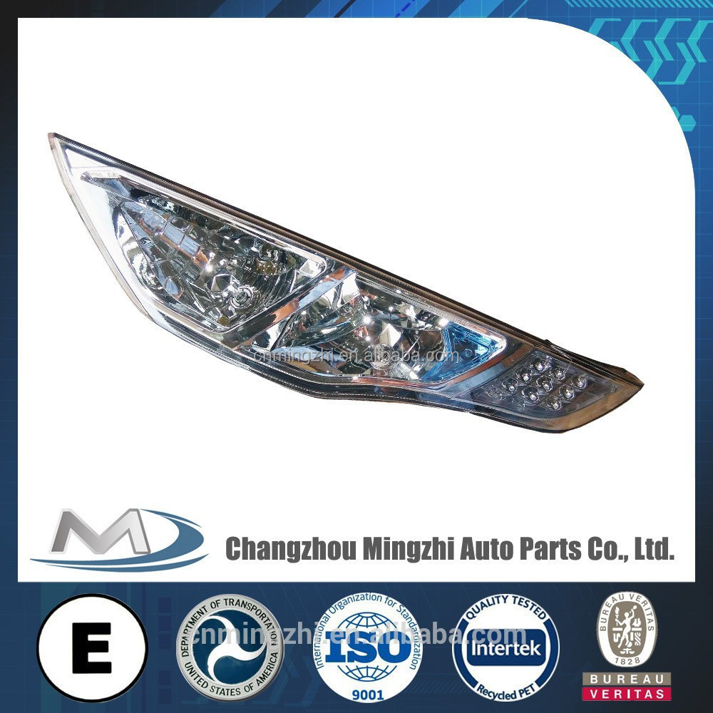 led head lamp auto parts market bus price fob china for Marcopolo Brazil HC-B-1450