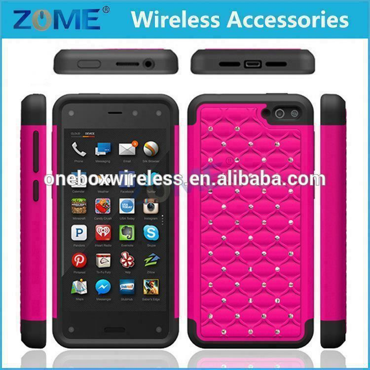 Wholesale Alibaba For Amazon Fire Phone Jewelry Rhinestone Case